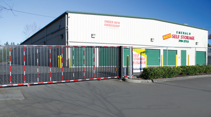 Front of Emerald Self Storage
